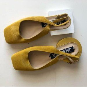 Like new Jacquemus suede heel shoes